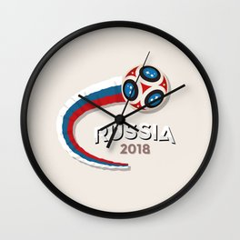 Worldcup Russia 2018 Great Wall Clock