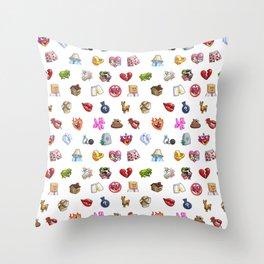 sul sul pattern Throw Pillow