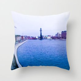Submerged in the depths of my soul. Throw Pillow