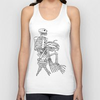 pie Tank Tops featuring Pie by The Pearly Owl