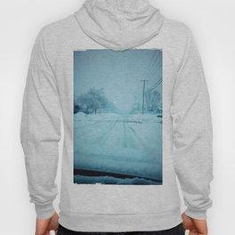 An Icy road Hoody