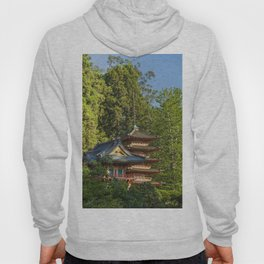Pagodas (Tō) in Japanese Tea Garden, Golden Gate Park, San Francisco, California Hoody