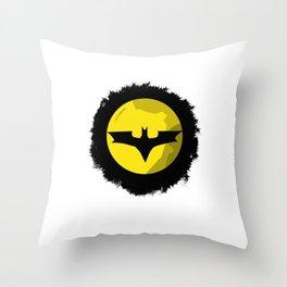 Batlogo Throw Pillow
