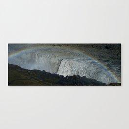 Dettifoss waterfall Canvas Print