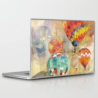 balloons Laptop & iPad Skins featuring Balloons by takmaj
