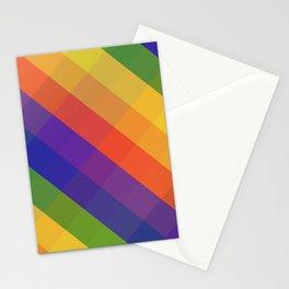 CRISS CROSS RAINBOW... Stationery Cards