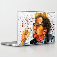 kurt cobain Laptop & iPad Skins featuring kurt by benjamin james