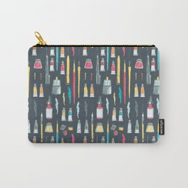 Addicted to Art supplies pattern Carry-All Pouch