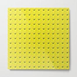 Fiesta Yellow Metal Print