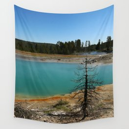 Amazing Hot Spring Colors Wall Tapestry