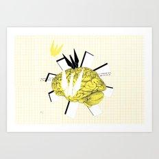 Crane's inspiration Art Print