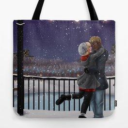 Fairy tale winter Tote Bag