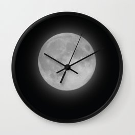 June Full Moon Collection 4 Wall Clock