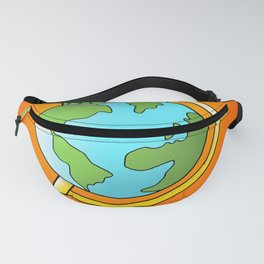 Peas on Earth Fanny Pack