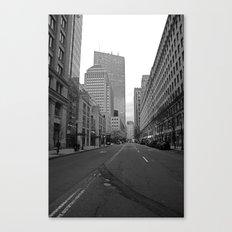 Boston streets Canvas Print