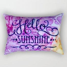 Hello Sunshine Rectangular Pillow
