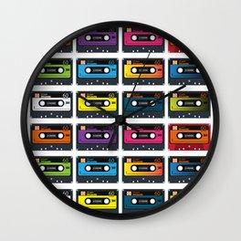 Vintage audio tape Wall Clock