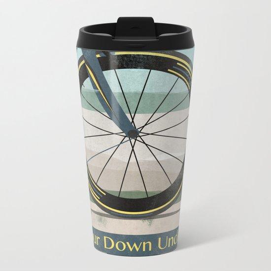 Tour Down Under Bike Race Metal Travel Mug