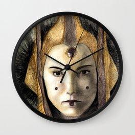 Queen padme amidala Wall Clock
