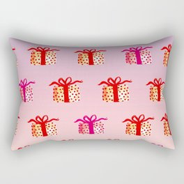 Watercolor Lovely Gift Rectangular Pillow