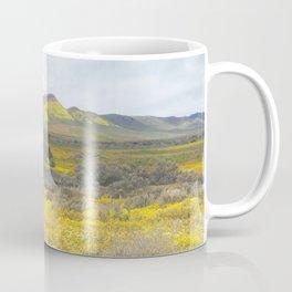 Mega Bloom Central California, Carrizo Plain National Monument Coffee Mug