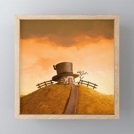 The House in the Hat Framed Mini Art Print