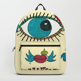 SEE LOVE IN THE AIR Backpack