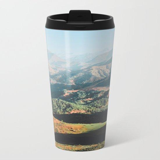 Layers of the Atlas Mountains, Africa Metal Travel Mug