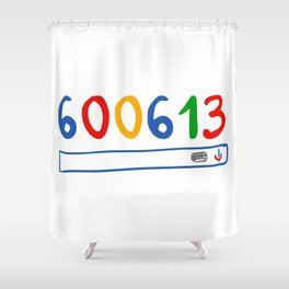 600613 search engine Shower Curtain