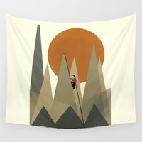 explore Wall Tapestries featuring Explore by bri.b