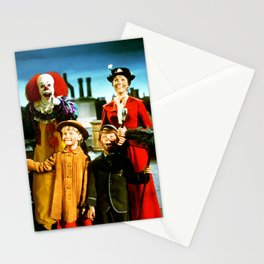 PENNYWISE IN MARY POPPINS Stationery Cards