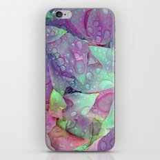 RAIN PETALS iPhone & iPod Skin