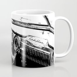 Vintage Cadillac Interior Coffee Mug