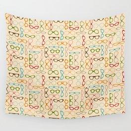 Retro glasses Wall Tapestry