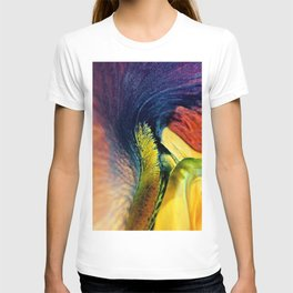 Colourful Iris Abstract T-shirt