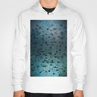 grid Hoodies featuring Grid by Tayler Smith