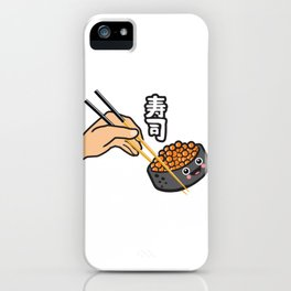 Sushi Kanji iPhone Case