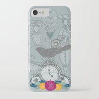 folk iPhone & iPod Cases featuring Folk by karyn johnstone