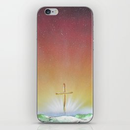 He Is Risen iPhone Skin