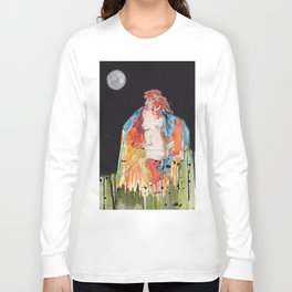 Full Moon Witch Long Sleeve T-shirt