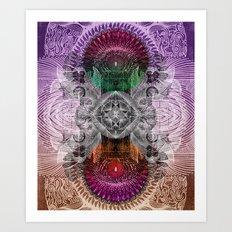 Between Days & Nights Art Print