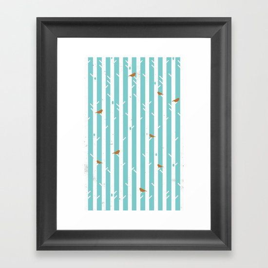 Bird Sanctuary Framed Art Print