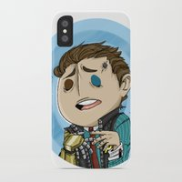 borderlands iPhone & iPod Cases featuring Borderlands - Rhys by Tarn