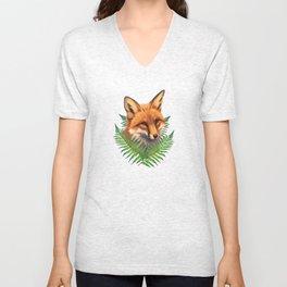 Fern Fox Unisex V-Neck