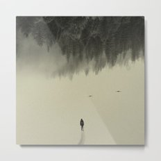 Silent walk Metal Print