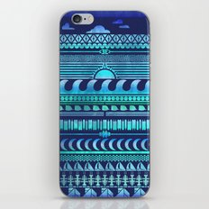 Aqua | Tribal iPhone & iPod Skin