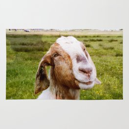 The Smiling Goat Rug