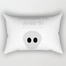 Welcome to Area 51 Rectangular Pillow