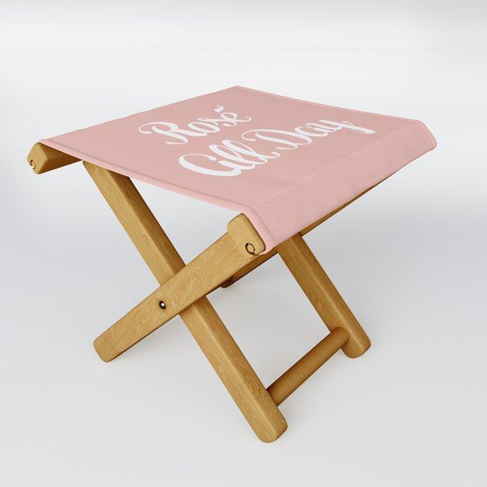 Rosé All Day Folding Stool