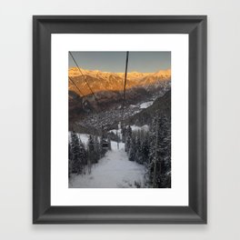 Telluride Col Framed Art Print